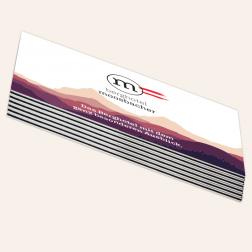Visitenkarten mit schwarzem Farbkern, 85x55mm, 4c/4c, -Österreich-