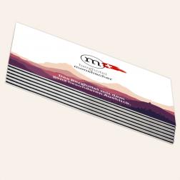 Visitenkarten mit schwarzem Farbkern, 85x55mm, 4c/4c, Schweiz