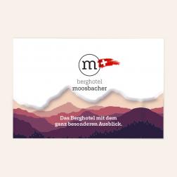 Letterpress Visitenkarten 85x55mm, 4c/4c, Schweiz