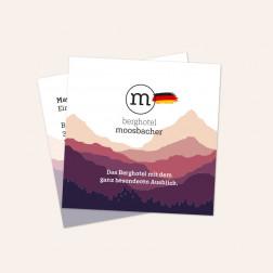 Visitenkarten quadratisch 55x55mm 4c4c Deutschland