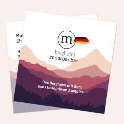 Visitenkarten quadratisch 69x69mm 4c4c Deutschland